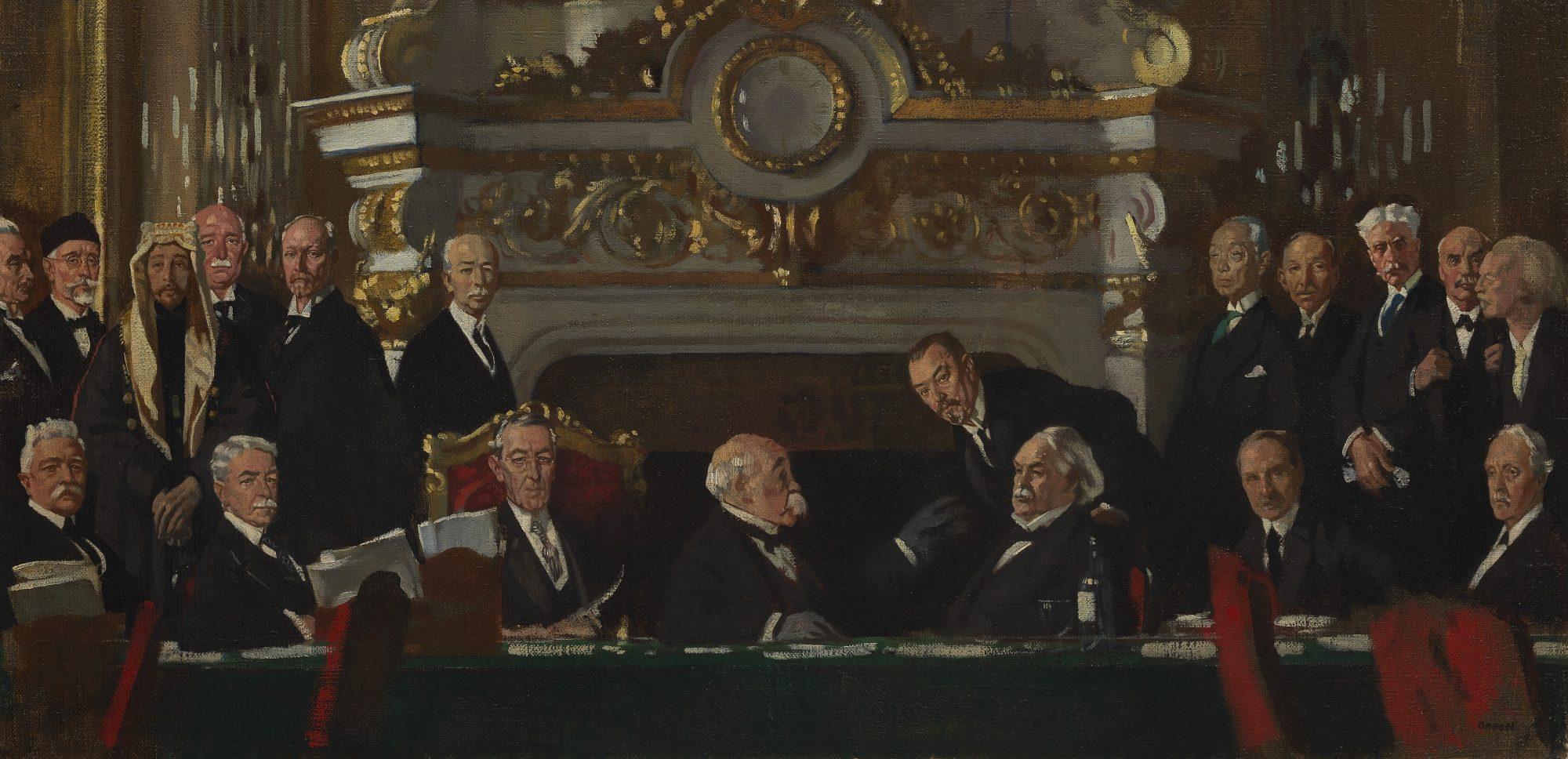 1919, la conférence de la paix